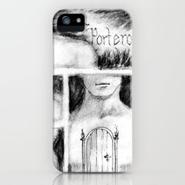El Portero - Surreal Draw - Psychological Visual Story iPhone Case