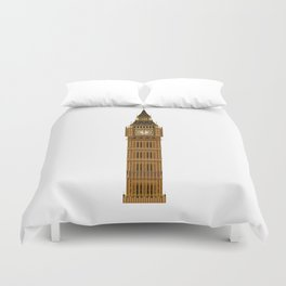 Big Ben Isolated Duvet Cover