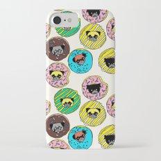 Pug Donuts iPhone 7 Slim Case