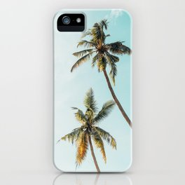 Palm Tree Beach Summer iPhone Case