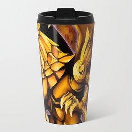 The Winged Dragon of Ra Travel Mug