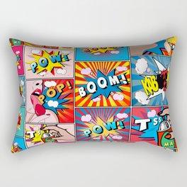 comics college Rectangular Pillow