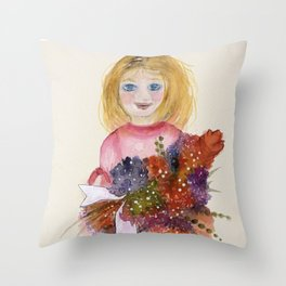 A Special Gift Throw Pillow
