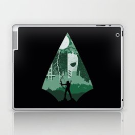 Arrow green Laptop & iPad Skin