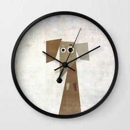 Odd Dachshund  Wall Clock