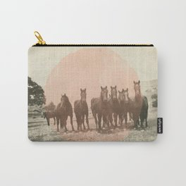 Band of Horses - Peach Carry-All Pouch