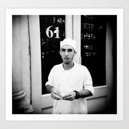 NYC holga portraits 1 Art Print