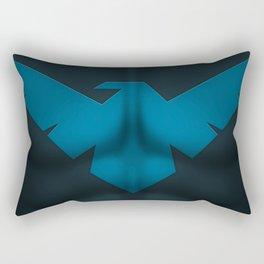 Nightwing2: Superhero Art Rectangular Pillow