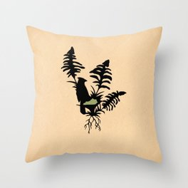 Kentucky - State Papercut Print Throw Pillow