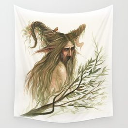 Leshy - woodland spirit Wall Tapestry
