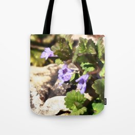 Ground Ivy 03 Tote Bag