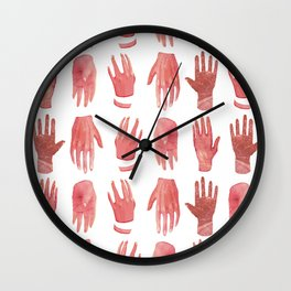 smoth hands Wall Clock