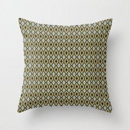 Rombus_Caramel Throw Pillow