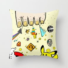 The Sand Between God's Toes Throw Pillow