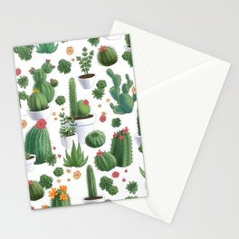 Succulent Cacti Stationery Cards