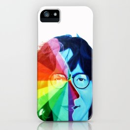JohnLennon - Psychedelic iPhone Case