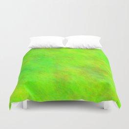Chartreuse Color Duvet Cover