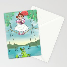 Baby Haunted Mansion Tightrope Ballerina Stationery Cards