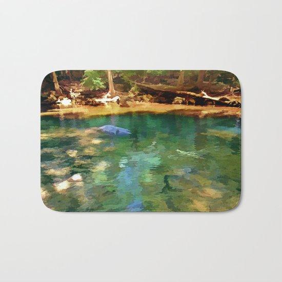 Glistening Pond Bath Mat