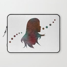Talking Bubble (colorful silhouette) Laptop Sleeve