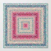 square Canvas Prints featuring Square by Truly Juel