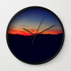 Biltmore Sunset Wall Clock