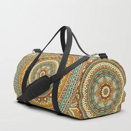 Hippie Mandala 10 Duffle Bag