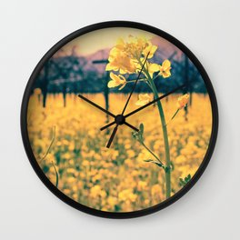 Bye-bye Winter, Hello Spring! Wall Clock