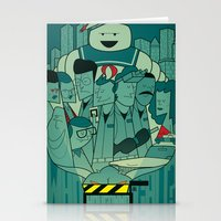 ghostbusters Stationery Cards featuring Ghostbusters by Ale Giorgini