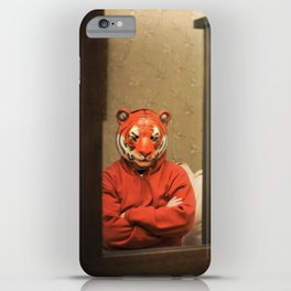 He Waits Silently  iPhone Case