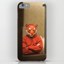 He Waits Silently  iPhone Case