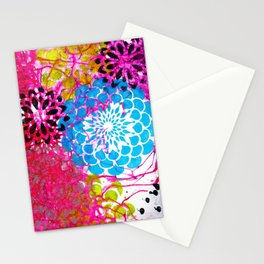color pop, 3 Stationery Cards