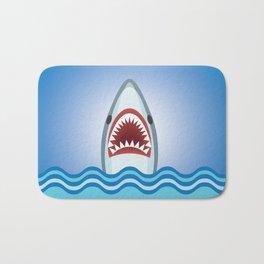 Cartoon Shark Bath Mat