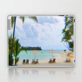 A Dreamy Day at a Tahitian Beach, Bora Bora Laptop & iPad Skin