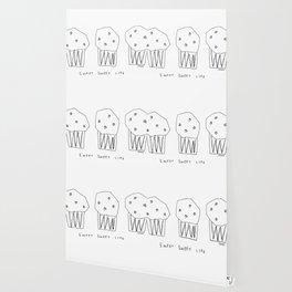 Sweet Sweet Life - cupcake illustration Wallpaper
