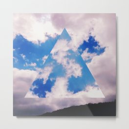 Three-Sided Sky Metal Print