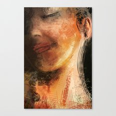 night pose Canvas Print