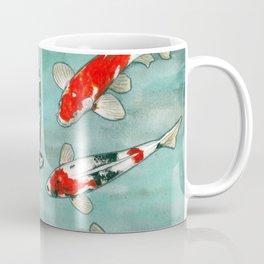 Le ballet des carpes koi Coffee Mug