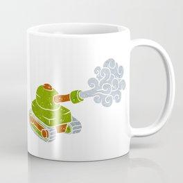 cartoon tank. Coffee Mug