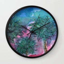 magic in the summer Wall Clock