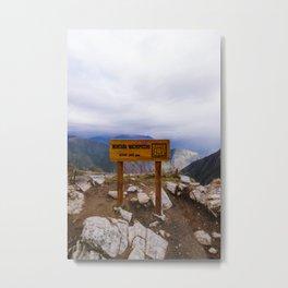 Machu Picchu 006 Metal Print
