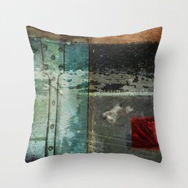 Everything is not okay Throw Pillow