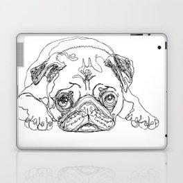 Lazy Pugturday Laptop & iPad Skin