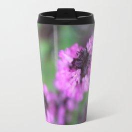 Pink Salvia Travel Mug