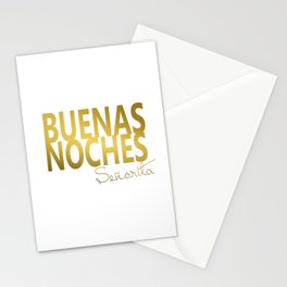 Buenas Noches Wire Sign For Spanish Nursery Decor Stationery Cards