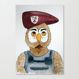 Capt. Feathers Canvas Print
