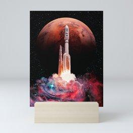 Space Launch Mini Art Print