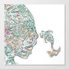 Homme Poisson  Canvas Print