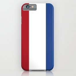 flag of netherlands iPhone Case