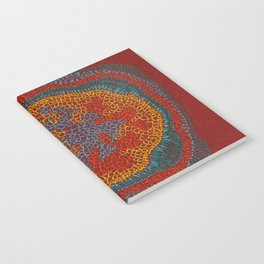 Growing - Lamium - plant cell embroidery Notebook